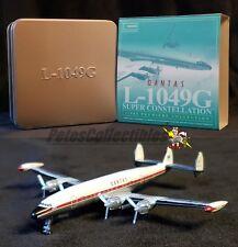 Dragon Wings 55531 Lockheed L-1049 Super Constellation Qantas In Collector Tin