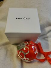 Pandora Christmas Spectacular Radio City Rockettes 2017 Ornament with Charm