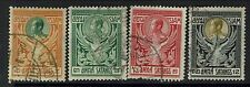 Thailand SC# 139-142, Used, Minor Creasing -  Lot 010417
