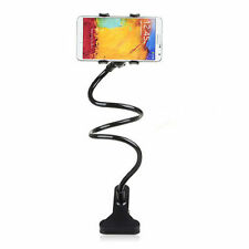 360º Rotating Bed Desktop Car Stand Mount Holder For iPhone Cell Phone GPS AB08