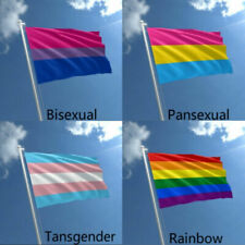 Lesbian Gay Bisexual Transgender Rainbow Flag LGBT Banners Large Pride Flags New