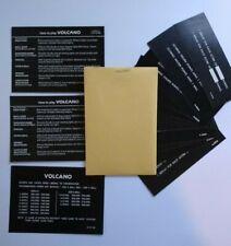 Gottlieb Volcano Pinball Machine Game Score Instruction Card Set Original NOS 81
