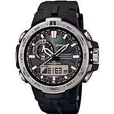 Watch Casio Pro Trek Prw-6000-1 Mens Black