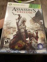 Assassin's Creed III (Xbox 360) Complete with Manual
