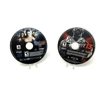WWE Smackdown vs Raw 2010 & 2013 (Sony PlayStation 3 PS3) Disc Only Tested
