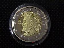 2004 ITALIA MONETA da 2 EURO DANTE FONDO SPECCHIO FS BE PP