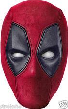 DEADPOOL Movie Superhero Wade Wilson  - Big Head WindoCling Sticker Glass Decal