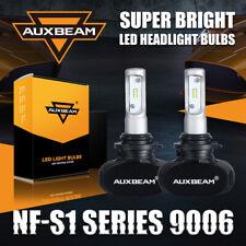 AUXBEAM 9006 HB4 LED Headlight Low Beam / Fog Lamp Kit 50W 8000LM 6500K Fanless