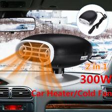 300W 2in1 Car Auto Cigarette Lighter Heater Cooling Fan Defroster Demister 12V