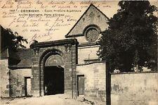 CPA Corbigny-Ecole Primaire-Supérieure Ancien Seminaire, Porte d'Entrée (420726)