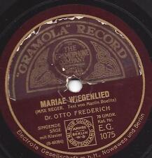 SINGENDER SÄGE  DR. OTTO FREDERICH : Ave Maria ( Franz Schubert )
