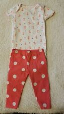 Carters Baby Girl Size 3/6 Month Outfit