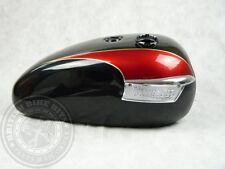 Negro Y Rojo de exportación de depósito de gasolina-Triumph Bonneville t140/tr7 Tiger