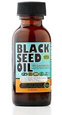 2x Pure Black Seed Oil each  1oz Cold Pressed 100% USDA Organic Nigella Sativa