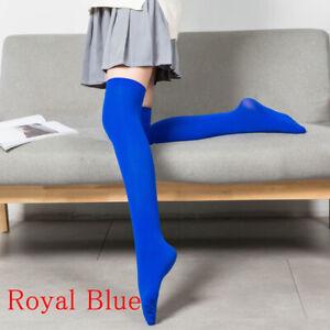 1 Pair School Long Stockings High Sock Thigh Socks Thigh High Cotton FashioSocks