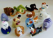 The Secret Life of Pets Soft Toy / Figures Bundle By McDonald's
