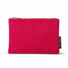 Marimekko | Pirput Parput Keksi Cosmetic Bag Zip Up Pouch in Pink / Red RRP $40