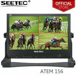 SEETEC ATEM156 15.6 Inch Live Streaming Broadcast Director Monitor with 4 HDMI