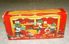 Vtg Unused Avon Merry Elfkins Three Christmas Festive Fragrance Soaps 6 Oz.