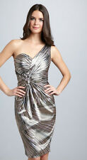 NEW Maggy London 'Sweetheart One-Shoulder' Satin Dress (Size 8)