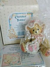 Cherished Teddies 1993 Nancy #916315 Nib Retired