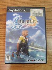 Final Fantasy X PlayStation 2 SquareSoft 2001-2002 Video Game