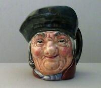 "Vintage 1930's Royal Doulton ""Toby Philpotts"" Miniture 2-1/4"" Toby Jug"