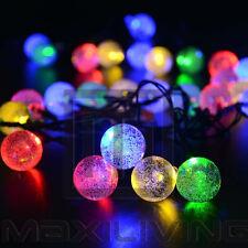 Weihnachtsdekoration 5m 50 LEDs Solar Lichterkette Partylichterkette  Lechte-CQ