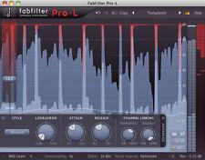 FabFilter Pro-L: Brickwall Limiter Mac PC Plug In