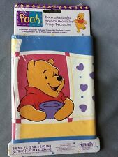 Sunworthy Winnie the Pooh Piglet Wall Border 6.83 Inch x 15 Ft PrePasted