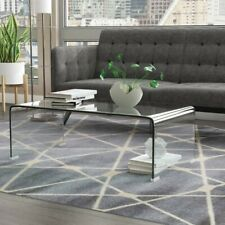 Sleek Arviso Sled Coffee Table