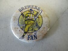 Vintage Milwaukee Brewers Fan Pin