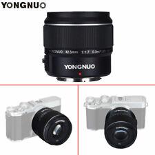 YONGNUO YN42.5mm F1.7M Large Aperture AutoFocus Lens for M4/3 Olympus E-PL9 G8H5