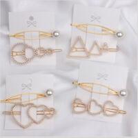 """bâton """" les pinces à cheveux ensemble snap barrette pearl épingles à cheveux"""