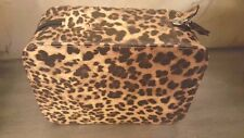Trish McEvoy The Power of Makeup Planner Collection Leopard-Print Case LE NIB!