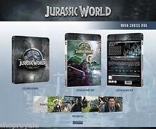 Novamedia Jurassic World 3D & 2D Lenticular Slip Steelbook Blu Ray NC06