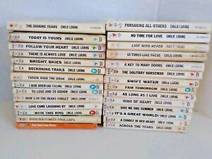 Emilie Loring Books Lot of 28 Vintage Romance Bantam Paperbacks LB