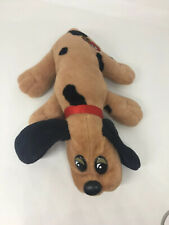 """Vtg 1986 Pound Puppies Plush Brown Spotted Dog 7.5"""""""