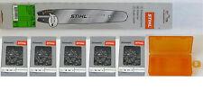 Stihl Führungsschiene 30cm für MS 170 / 171 / 180 / 181 / 192 / 193 +5Kette +Box