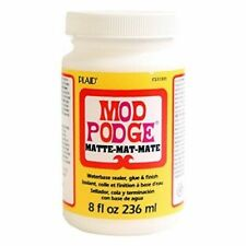 Mod Podge CS11301 Waterbase Sealer Glue and Finish 8 Oz Matte