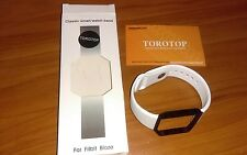 TOROTOP Soft Silicone Replacement Sport Strap Band Fitbit Blaze Smart Watch
