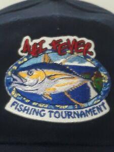 AHI FEVER Fishing Tournament Baseball Strapback Hat Cap