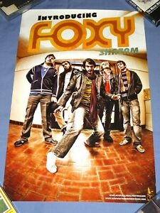 Foxy Shazam Introducing 11x17 Poster The Number Twelve Looks Like You Ferret New