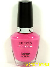 CUCCIO Nail Polish Lacquer Brand New and Genuine Colour 13mL/0.43fl.oz /PART 1
