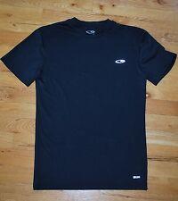 Euc! Men's Champion Duo Dry black athletic tight fitting short sleeve top (M)