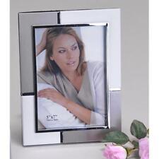 Fotorahmen, Bilderrahmen 13x18cm weiß silber rechteckig Formano