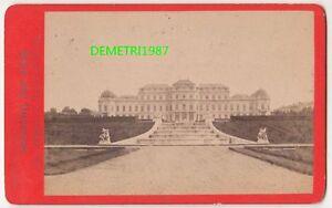 Cdv Foto Wien Schloss Belvedere 1874 ! (F758