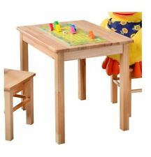 Tische und Stühle aus Massivholz für Kinder