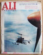 ALI NUOVE N.5 1954 - Rivista di AVIAZIONE AERONAUTICA*- Ali rotanti - ELICOTTERO