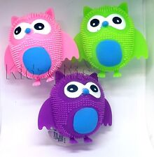 Flashing Squeeze Squidgy OWL Light Up Puffer Sensory Stress Relief Fidget Toy